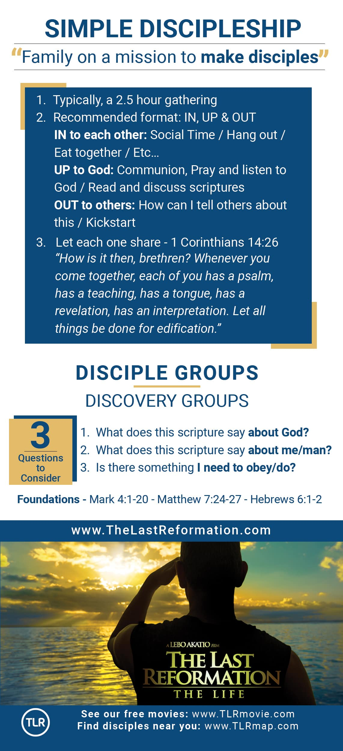 Simple Discipleship Card Front version 1.0
